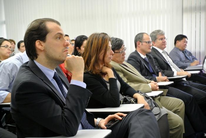 Paulo Campanella, Tânia Mara Ahualli, George Takeda, Flaviano Galhardo, Francisco Ventura de Toledo prestigiaram o encontro. Foto: Nataly Cruz.