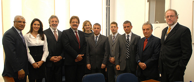 Cerimônia de lançamento da certidão eletrônica (Provimento conjunto 1/2008). Foto de 30.4.2008, by C. Petelinkar.
