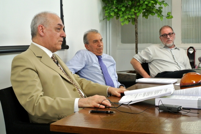 Ricardo Dip, Ademar Fioranelli e Sérgio Jacomino